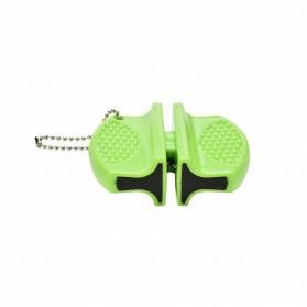 ONEUP Pengasah Pisau Mini Portable Knife Sharpener - MDQ001 - Black - 5