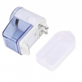 TaffHOME Pencukur Bulu Halus Pakaian Electric Cloth Wool Fabric Shaver Lint Remover - FL-188 - White - 5