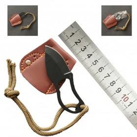 Pisau Perlindungan Diri Self Defense Knife Survival Tool - HW1188 - 6