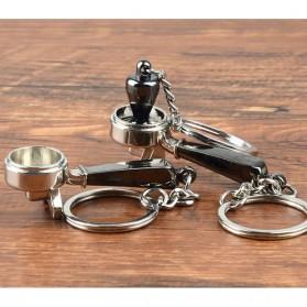 Kisshome Gantungan Kunci Aksesoris Kopi Barista Keychain Model Coffee Tamper - V587 - 3