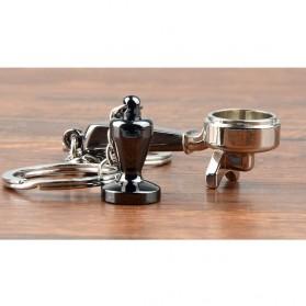 Kisshome Gantungan Kunci Aksesoris Kopi Barista Keychain Model Coffee Tamper - V587 - 4