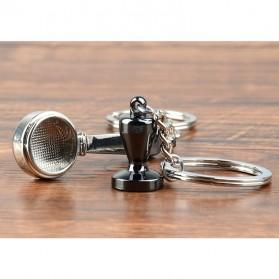 Kisshome Gantungan Kunci Aksesoris Kopi Barista Keychain Model Coffee Tamper - V587 - 5