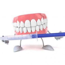 Poseida Pemutih Gigi Teeth Whitening Peroxide Dental Bleaching Oral Get Kit - Blue - 4