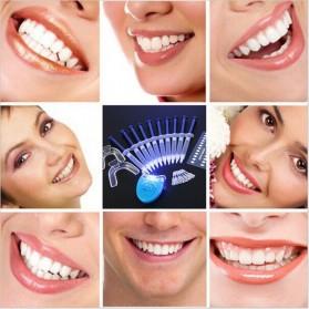 Poseida Pemutih Gigi Teeth Whitening Peroxide Dental Bleaching Oral Get Kit - Blue - 6