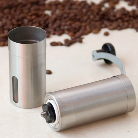 Forwardlife Alat Penggiling Kopi Manual Coffee Grinder Stainless Steel - Silver - 4