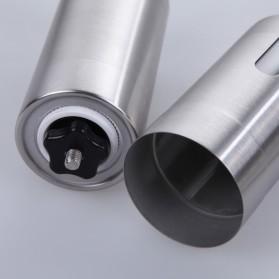 Forwardlife Alat Penggiling Kopi Manual Coffee Grinder Stainless Steel - Silver - 7