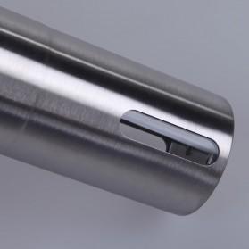 Forwardlife Alat Penggiling Kopi Manual Coffee Grinder Stainless Steel - Silver - 8