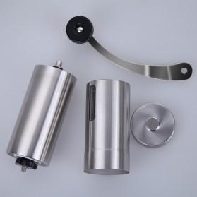 Forwardlife Alat Penggiling Kopi Manual Coffee Grinder Stainless Steel - Silver - 10