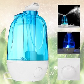 XProject Air Humidifier Ultrasonic Aromatherapy Oil Diffuser Large Capacity 4L with LED Lamp - Blue - 3