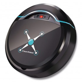 Automatic Household Vacuum Cleaner Universal Drive Lazy Robot - 2929 - Black - 7