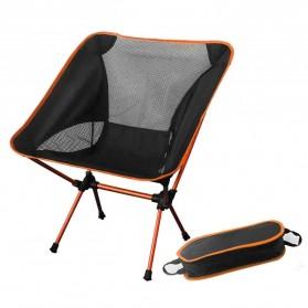 JOCESTYLE Kursi Lipat Memancing Portable Collapsible Folding Fishing Chair Low Design - SF733 - Orange