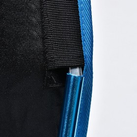 JOCESTYLE Kursi Lipat Memancing Portable Collapsible Folding Fishing Chair High Design - SF733 - Blue - 3