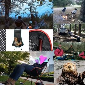 JOCESTYLE Kursi Lipat Memancing Portable Collapsible Folding Fishing Chair High Design - SF733 - Blue - 5