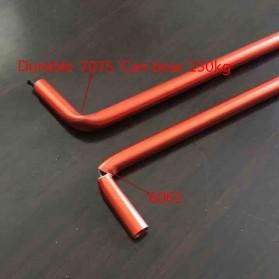 JOCESTYLE Kursi Lipat Memancing Portable Collapsible Folding Fishing Chair High Design - SF733 - Blue - 6