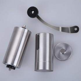 Alat Penggiling Kopi Coffee Bean Grinder Stainless Steel - E805 - Silver - 2