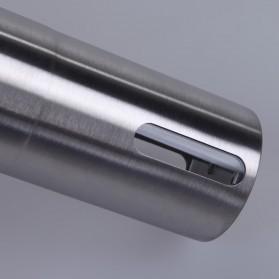 Alat Penggiling Kopi Coffee Bean Grinder Stainless Steel - E805 - Silver - 10
