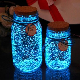 TTNIGHT Bubuk Powder Glow In The Dark Party Decoration 10g - T01 - Blue