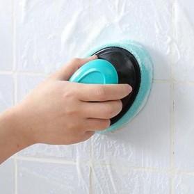 ISHOWTIENDA Sikat Pembersih Kamar Mandi Refillable Foaming Cleaning Brush - LDS15 - Green - 3