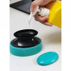 ISHOWTIENDA Sikat Pembersih Kamar Mandi Refillable Foaming Cleaning Brush - LDS15 - Green - 6