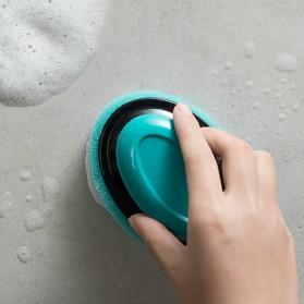 ISHOWTIENDA Sikat Pembersih Kamar Mandi Refillable Foaming Cleaning Brush - LDS15 - Green - 9