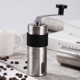 Alat Penggiling Kopi Manual Coffee Grinder - RHNHA0175 - Black