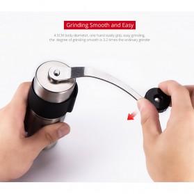 Alat Penggiling Kopi Manual Coffee Grinder - RHNHA0175 - Black - 6