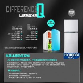 Hyundai Kulkas Mobil Mini Home Dual Use Cooler Warmer Portable Refrigerator 6L - HD-6L - Blue - 9