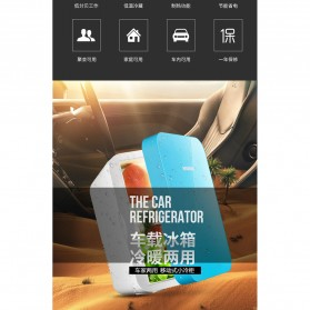 Hyundai Kulkas Mobil Mini Home Dual Use Cooler Warmer Portable Refrigerator 6L - HD-6L - Blue - 10