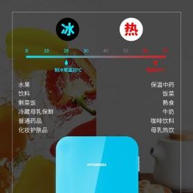 Hyundai Kulkas Mobil Mini Home Dual Use Cooler Warmer Portable Refrigerator 6L - HD-6L - Blue - 3