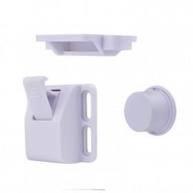 KOOLBOY Kunci Laci Lemari Magnetic Safety Kids Drawer 10 Lock 2 Key - LK-002-KB - White - 3