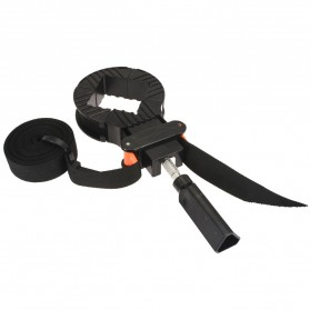 Mayitr Alat Penjepit Bingkai Kayu Adjustable Rapid Corner Clamp Strap Band 4 Jaws - PHO-0CKO - Black - 2