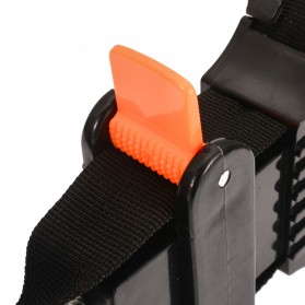 Mayitr Alat Penjepit Bingkai Kayu Adjustable Rapid Corner Clamp Strap Band 4 Jaws - PHO-0CKO - Black - 4
