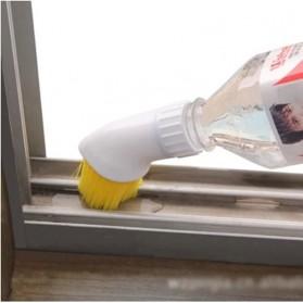 ISHOWTIENDA Kepala Sikat Pembersih Tutup Botol Minum Cleaning Brush Spray - PP006 - White - 2