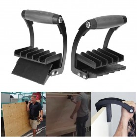 As Seen On TV / Barang Unik - Alloet Free Hand Easy Gorilla Gripper Panel Wood Furniture Carrier - BH847 - Black