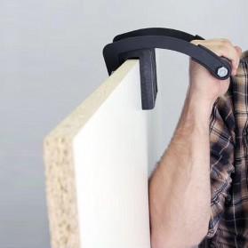 Alloet Free Hand Easy Gorilla Gripper Panel Wood Furniture Carrier - BH847 - Black - 2