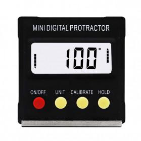 JIGONG Alat Ukur Sudut Kemiringan Digital Protractor Inclinometer Level with Magnetics Angle Measuring - JIG-RT001 - Black - 2