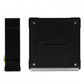 JIGONG Alat Ukur Sudut Kemiringan Digital Protractor Inclinometer Level with Magnetics Angle Measuring - JIG-RT001 - Black - 5