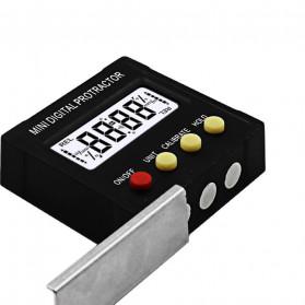 JIGONG Alat Ukur Sudut Kemiringan Digital Protractor Inclinometer Level with Magnetics Angle Measuring - JIG-RT001 - Black - 10