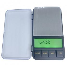 VKTECH Timbangan Dapur Mini Digital Platform Scale 500g 0.01g - MQ317 - Silver