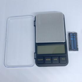 VKTECH Timbangan Dapur Mini Digital Platform Scale 500g 0.01g - MQ317 - Silver - 2