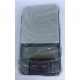 VKTECH Timbangan Dapur Mini Digital Platform Scale 500g 0.01g - MQ317 - Silver - 4