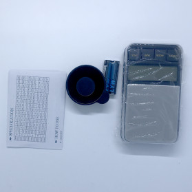 VKTECH Timbangan Dapur Mini Digital Platform Scale 500g 0.01g - MQ317 - Silver - 5