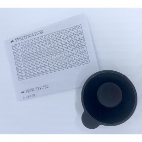 VKTECH Timbangan Dapur Mini Digital Platform Scale 500g 0.01g - MQ317 - Silver - 6