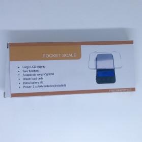 VKTECH Timbangan Dapur Mini Digital Platform Scale 500g 0.01g - MQ317 - Silver - 7