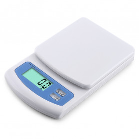 VKTECH Timbangan Dapur Mini Digital Scale 2000g 0.1g - MQ318 - White