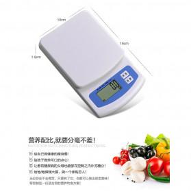 VKTECH Timbangan Dapur Mini Digital Scale 2000g 0.1g - KS-186 - White - 3