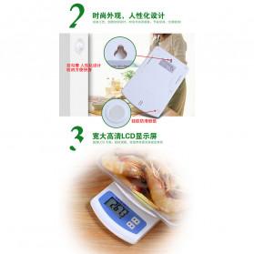 VKTECH Timbangan Dapur Mini Digital Scale 2000g 0.1g - KS-186 - White - 6