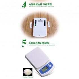 VKTECH Timbangan Dapur Mini Digital Scale 2000g 0.1g - KS-186 - White - 7