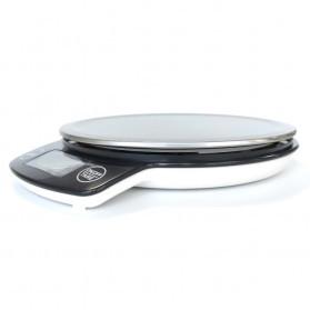 VKTECH Timbangan Dapur Mini Digital Platform Scale 5000g 1g - KS-886 - Red - 9