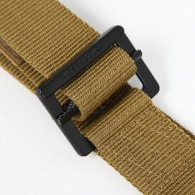 BLACKHAWK Tali Ikat Pinggang Pria Outdoor Military Tactical Belt - 23502 - Black - 5